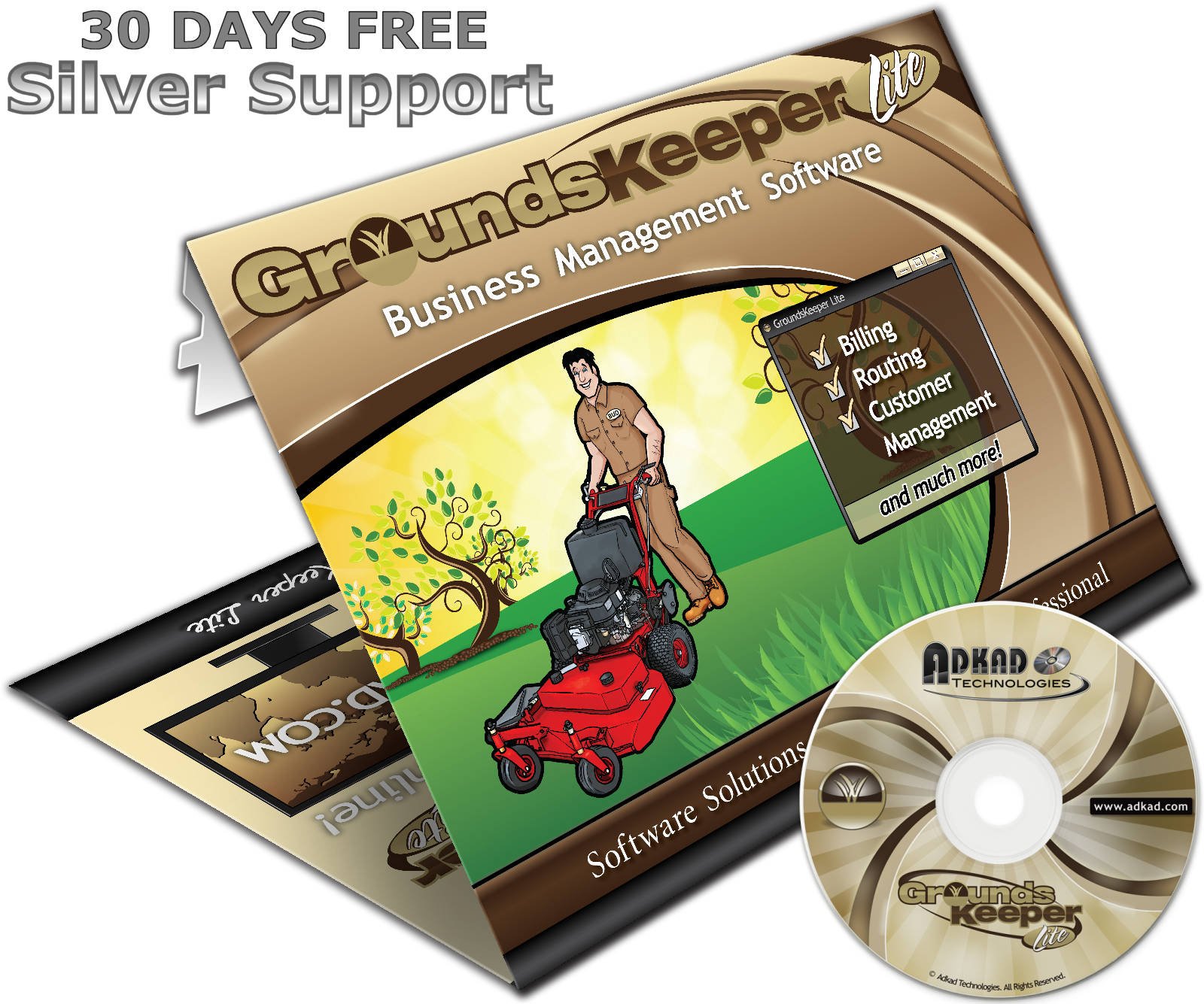 groundskeeper lite v3122 is billing and routing software