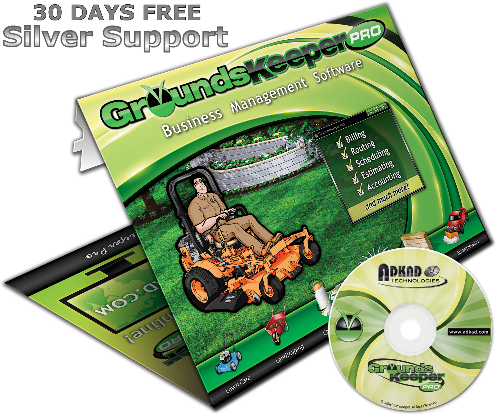 GroundsKeeper Pro V Adkad Technologies Inc - Invoice software for landscaping